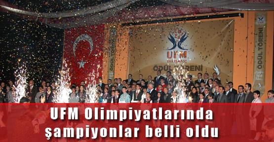 Ufuk Fen Matematik (UFM) Olimpiyatlarında Şampiyonlar Belli Oldu