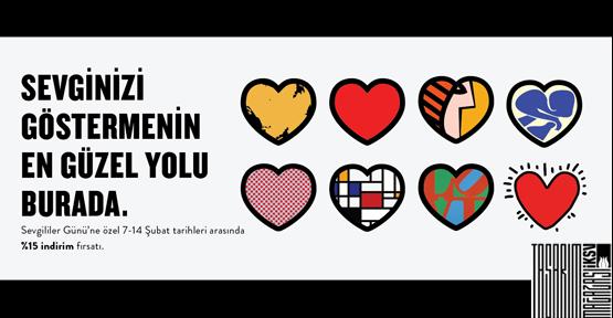 Sevgililer Günü hediyeniz İKSV Tasarım Mağazası'nda