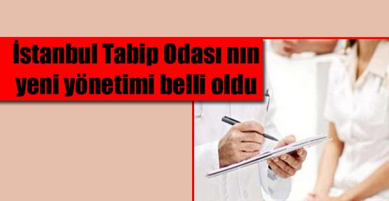 İstanbul Tabip Odası'nda Yeni Yönetim