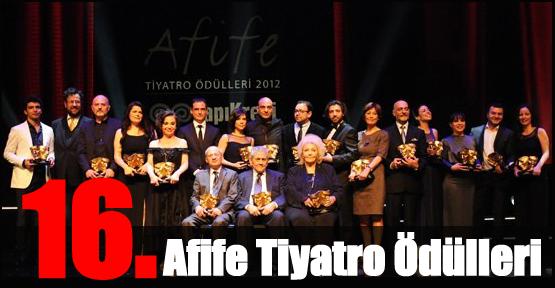 16'ncı Afife Tiyatro Ödülleri Sahiplerini Buldu