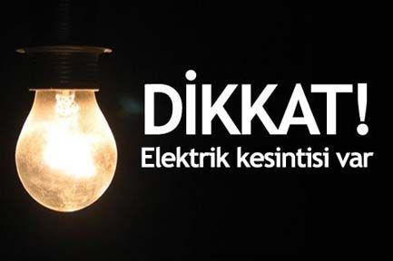 İstanbul\'da elektirik kesintisi