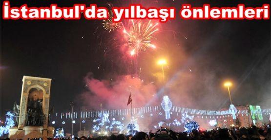 İstanbul\'da yılbaşı önlemleri