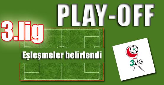 Spor Toto 3.Lig Play-Off Eşleşmeleri Belirlendi