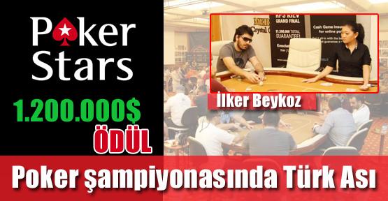Poker Şampiyonasında Türk Ası