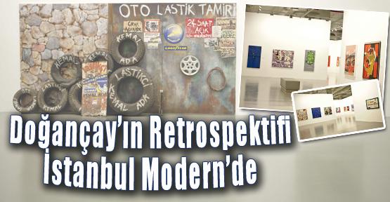 Doğançay'ın Retrospektifi İstanbul Modern'de