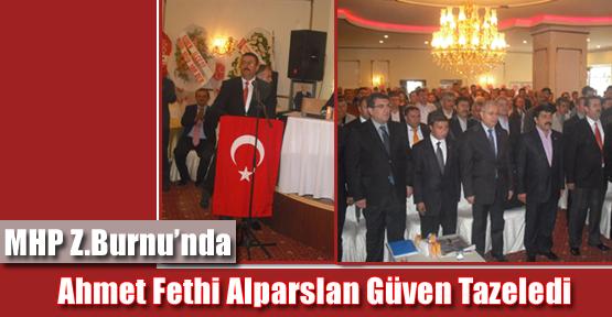 MHP Z.Burnu'nda Ahmet Fethi Alparslan Güven Tazeledi