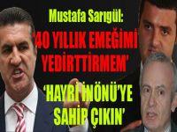 Mustafa Sarıgül: 'Hayri İnönü'ye sahip çıkın'