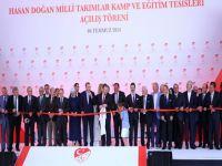 Hasan Doğan Milli Takımlar Kamp ve Eğitim Tesisleri açıldı