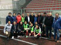 Çavuşoğlu'ndan Fatih Vatanspor'a ziyaret