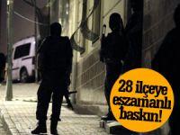 HDP İlçe Başkanlarına Büyük Operasyon