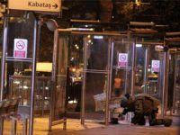Tramvay duraklarında bomba alarmı