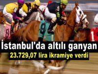 At yarışları -İstanbul'da altılı ganyan 23.729,07 lira ikramiye verdi