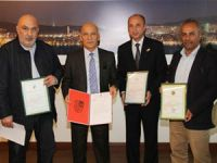 Abhazya Sohum Belediyesi'nden Başkan Öz'e ziyaret