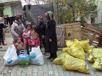 Büyükçekmece' den sığınmacılara destek
