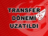 Transfer dönemi uzatıldı