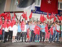 Şile Yıldızspor demokrasi nöbetinde