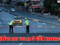 Şişli'de 16-21 Kasım tarihinde bu yollara kapalı olacak...