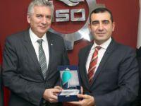 PAGEV Yönetim Kurulu Üyeleri İSO Başkanı Erdal Bahçıvan'ı Ziyaret Etti