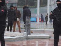 Taksim'de Güvenlik arttırıldı