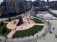 Taksim Meydana Camii İnşaatı Başladı...