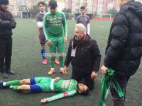 Genç futbolcu ölümden döndü