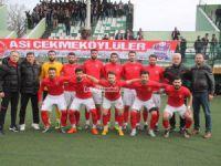 Çekmeköy Bld. Alemdağspor Kozlu Belediyespor'u tek golle geçti