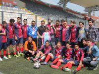 Ambarlı Işıkspor Şampiyonluk kupasını aldı