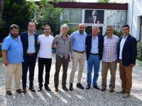 TÜFAD İstanbul Tolunay Kafkas'ı ziyaret etti