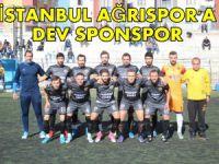 İstanbul Ağrıspor'a Dev Sponsor