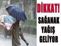 İstanbul İçin Şiddetli Yağış Uyarısı Yapıldı