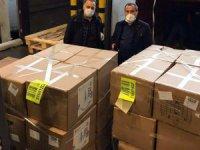 Çin'den İstanbul'a medikal malzeme geldi