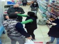 Esenyurt'taki markette 'maske'sizlik kavgası