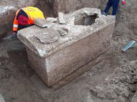 İstanbul Silivri'de, Roma dönemine ait lahit bulundu