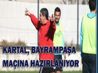 Kartalspor, Bayrampaşa maçına hazırlanıyor