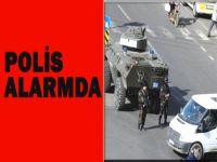 Polis alarmda