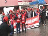 Süreyyapaşa Hastanesi'nde eylem