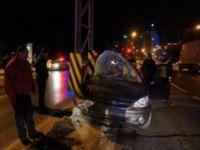 Sarıyer'de trafik kazası: 2 yaralı