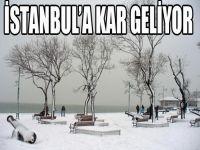 Ankara'da kar başladı sıra İstanbul'da