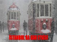 İstanbul'da kar yağışı akşam da etkili oldu