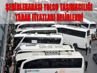Şehirlerarası yolcu taşımacılığında uygulanacak taban fiyatlar belirlendi