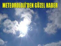 Meteoroloji'den güzel haber
