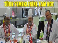 Türk yemeklerine tam not