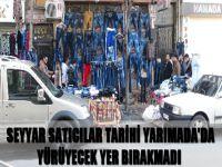 Seyyar satıcılar Tarihi Yarımada'da yürüyecek yer bırakmadı