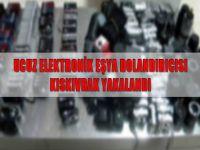 Ucuz elektronik eşya dolandırıcısı kıskıvrak yakalandı