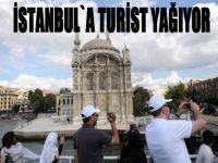 İstanbul`a turist yağıyor