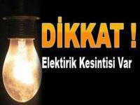 Elektrik Kesintisi Yaşanacak