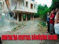 Kartal'da Kentsel Dönüşüm Yıkımı