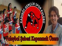 Kadıköy Spor ve Gençlik Kulübü Voleybol'u Kapatmak Üzere