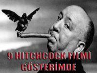 9 Hitchcock filmi Gösterimde