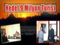 Hedef 9 Milyon Turist